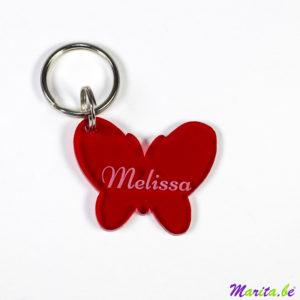 sleutelhanger rood melissa