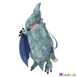 blauwe dinosaurus rugzak stoer mooi en degelijk