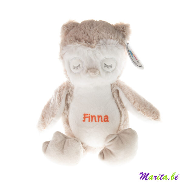 Uil bedrukt met naam Finna