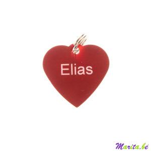 médaille gravée pour elias
